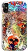 Bear Colored Grunge IPhone Case