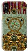 Bear In The Blueberry Wood IPhone Case