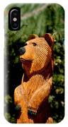 Bear In Woods IPhone Case
