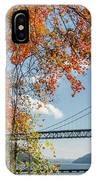 Bear Mountain Bridge Fall Color IPhone Case