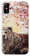 Bear With A Heart Of Gold IPhone Case