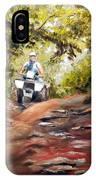 Bear Wallow Rider IPhone X Case