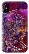 Bearded Bee Macro Insect Nature  IPhone Case