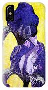 Bearded Iris IPhone Case