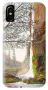 Bears At Waterfall IPhone Case