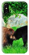 Bears In Love IPhone Case