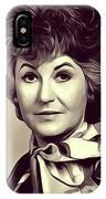 Beatrice Arthur, Vintage Actress IPhone Case
