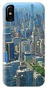 Beautiful Abstract Toronto IPhone Case