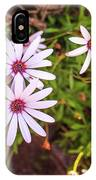 Beautiful African White Daisies IPhone Case