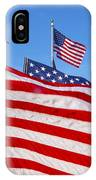 Beautiful American Flags IPhone Case