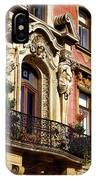 Beautiful Balcony In Austria IPhone Case
