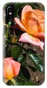 Beautiful Bloom Of The Rose Atlantic Star IPhone Case