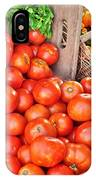 The Bountiful Harvest At The Farmer's Market IPhone Case