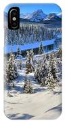 Beautiful Bow Valley IPhone Case