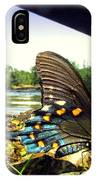 Beautiful Butterfly At The River II IPhone Case