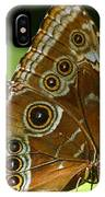 Beautiful Butterfly Wings Of Meadow Brown IPhone Case