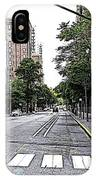 Beautiful Downtown Hoboken  IPhone Case