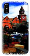 Beautiful Downtown Solvang IPhone Case