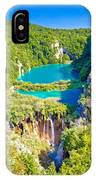Beautiful Falling Lakes Of Plitvice National Park IPhone Case