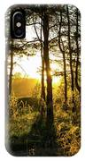 Beautiful Forest At Sunrise IPhone Case