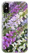 Beautiful Foxglove IPhone Case