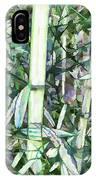 Beautiful Green Leaf Bamboo IPhone Case