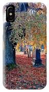 Beautiful Historic Camp Hill Cemetery Halifax Nova Scotia IPhone Case