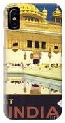 Beautiful India Poster IPhone Case