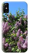 Beautiful Lilacs Day IPhone Case