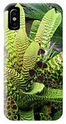 Beautiful Lime Bromeliad IPhone Case