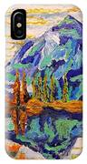 Beautiful Mountainous Reflection  IPhone Case