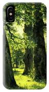 Beautiful Oak Trees Reach To The Skies IPhone Case