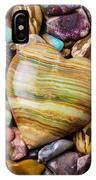 Beautiful Polished Colorful Stones IPhone Case