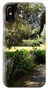 Beautiful Pond Path IPhone Case