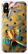 Beautiful Scissor-tailed Flycatchers IPhone Case