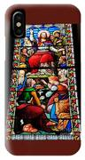 Beautiful Stained Glass At Emmanuel Church Baltimore # 5 IPhone Case