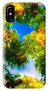 Beautiful Tree Tops In Sky IPhone Case