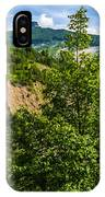 Nature Taking Back Its Place At Vajont Dam IPhone Case
