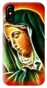 Beautiful Virgin Mary Portrait IPhone Case