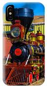 Beautiful Virgina And Truckee Steam Train IPhone Case