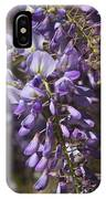 Beautiful Wisteria A Spring Delight IPhone Case