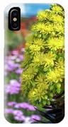 Beautiful Yellow Flowers On A Garden Background IPhone X Case