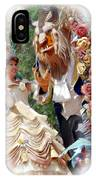 Beauty And The Beast II IPhone Case