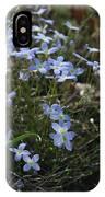 Beauty Blue Flowers IPhone Case