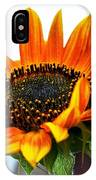 Beauty In A Sunflower IPhone Case