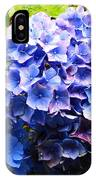 Beauty Of Blue. IPhone Case