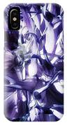 Beauty Out Of Chaos. No Wonder Dahlias IPhone Case