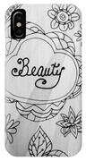 Beauty IPhone X Case
