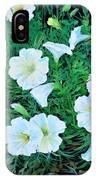 Beauyiful Petunias IPhone Case