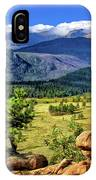 Beaver Meadows In Rocky Mountain National Park IPhone Case